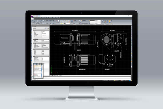 CMS IntelliCAD software CAD compatibile con files *.dwg